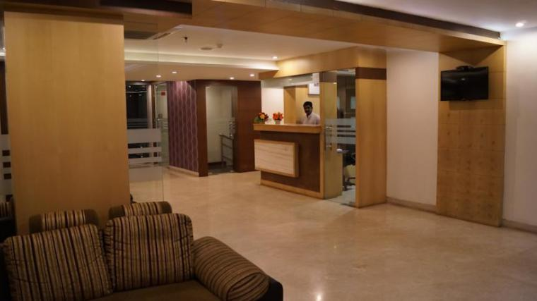 Hotel Winsar Park Reception