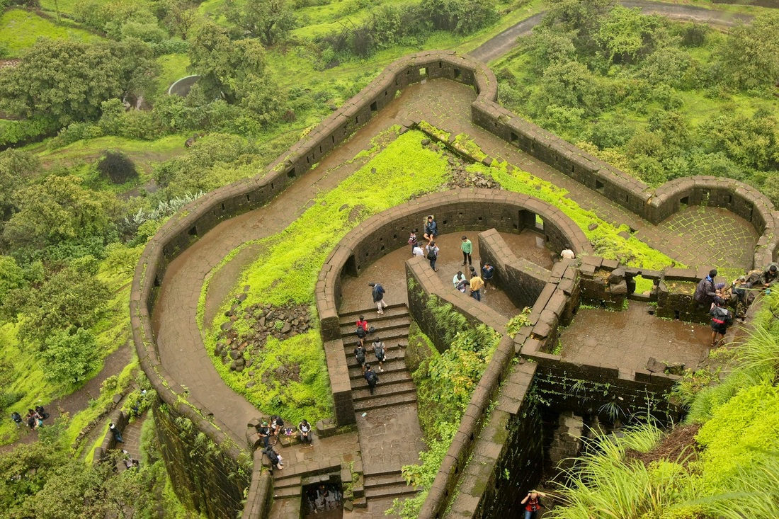 Landscapes Of Lohagad Fort